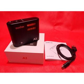 【極美品】GODOX A1フラッシュ スマホ用のワイヤレスフラッシュ イルコ(ストロボ/照明)