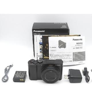 パナソニック(Panasonic)のLUMIX DMC-TX1 (2010万画素/10倍/SDXC/ブラック(コンパクトデジタルカメラ)