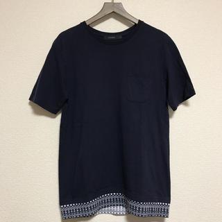 RAGEBLUE - レイジブルー ポケットTシャツ ノルディック柄