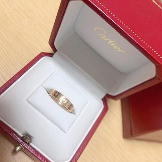 Cartier - カルティエ ミニラブリング 1Pダイヤ ピンクゴールド