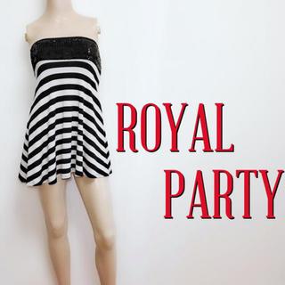 ロイヤルパーティー(ROYAL PARTY)の極美ライン♪ロイヤルパーティー ストレッチベアチュニック♡デュラス リゼクシー(チュニック)