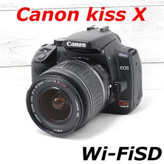 キヤノン(Canon)の❤️Wi-FiSD付き❤️初心者オススメ❤️Canon kiss X(デジタル一眼)