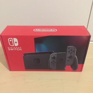 ニンテンドースイッチ(Nintendo Switch)の新品未使用 Nintendo Switch Joy-Con(L)/(R) グレー(家庭用ゲーム機本体)