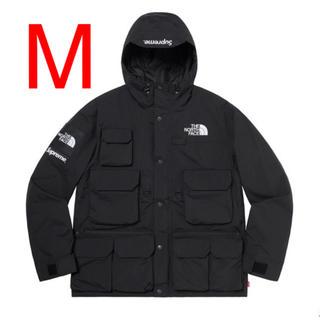 シュプリーム(Supreme)の【M】シュプリーム ノースフェイス Cargo Jacket Black 黒(マウンテンパーカー)