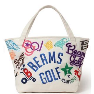 ビームス(BEAMS)のBEAMS GOLF / various ロゴ ビッグ トートバッグ(バッグ)