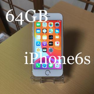 アイフォーン(iPhone)のiPhone6s Gold 64GB docomo 本体 動作品(スマートフォン本体)