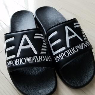 エンポリオアルマーニ(Emporio Armani)のエンポリオアルマーニ イーエーセブン メンズサンダル 27センチ(サンダル)