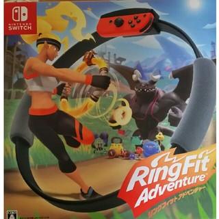 ニンテンドースイッチ(Nintendo Switch)のリングフィットアドベンチャー 任天堂 Nintendo SWITCH(家庭用ゲームソフト)