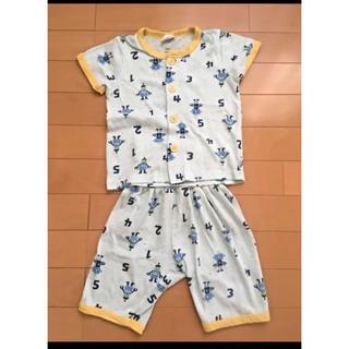 シマムラ(しまむら)の【ベビー夏物】半袖 腹巻き付きパジャマ★95サイズ(パジャマ)