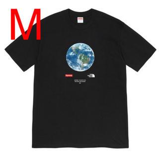 シュプリーム(Supreme)の【M】シュプリーム ノースフェイス One World Tee Black 黒(Tシャツ/カットソー(半袖/袖なし))