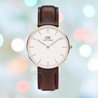 ダニエルウェリントン(Daniel Wellington)の安心保証付き【36㎜】ダニエルウェリント 腕時計〈DW00100039〉(腕時計(アナログ))