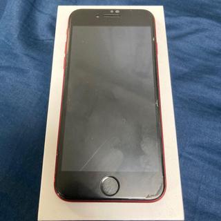 アイフォーン(iPhone)のiPhone8 product red(スマートフォン本体)