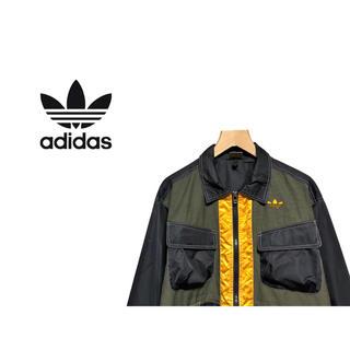 アディダス(adidas)のVintage adidas アドベンチャー ジャケット / ナイロン ブルゾン(ナイロンジャケット)