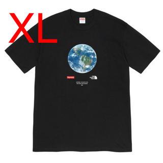 シュプリーム(Supreme)の【XL】シュプリーム ノースフェイス One World Tee Black 黒(Tシャツ/カットソー(半袖/袖なし))