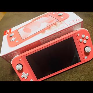 ニンテンドースイッチ(Nintendo Switch)のNintendo Switch LITE + あつもり(携帯用ゲーム機本体)