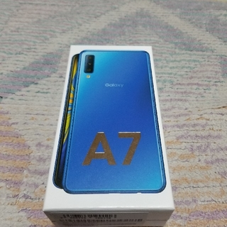 ギャラクシー(Galaxy)のGALAXY A7 64GB SIMフリー 新品未使用(スマートフォン本体)