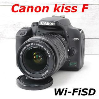 キヤノン(Canon)の❤️一眼デビューに❤️スマホ転送❤️Canon kiss F(デジタル一眼)