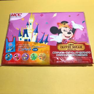 ディズニー(Disney)のUCC オリジナル ディズニー エコバッグ★ミニーマウス(ノベルティグッズ)