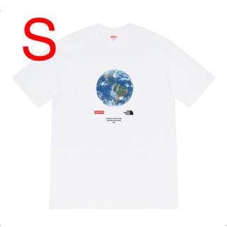 シュプリーム(Supreme)の【S】シュプリーム ノースフェイス One World Tee White 白(Tシャツ/カットソー(半袖/袖なし))