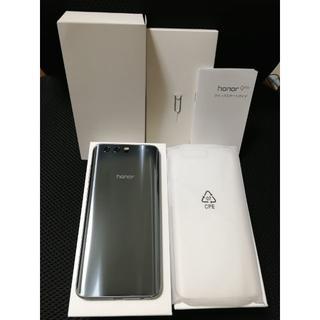 Huawei honor9 SIMフリー◆DSDS◆純正ケース付き◆比較的美品(スマートフォン本体)