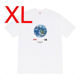 シュプリーム(Supreme)の【XL】シュプリーム ノースフェイス One World Tee White 白(Tシャツ/カットソー(半袖/袖なし))