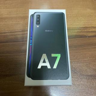 Galaxy A7 64GB ブラック(スマートフォン本体)