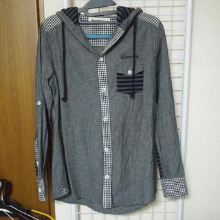 ランドリー(LAUNDRY)のLaundry フード付き 長袖 シャツ(シャツ/ブラウス(長袖/七分))