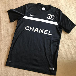 ナイキ(NIKE)のNIKE×CHANEL AUTHENTIC半袖TシャツDRY-FIT(Tシャツ/カットソー(半袖/袖なし))