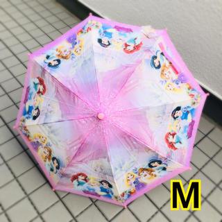 ディズニー(Disney)の新品 ! プリンセス 傘 M 雨傘 キッズ 子供 女の子 ジャンプ ディズニー(傘)