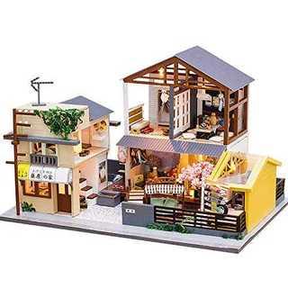 DIY木製ドールハウス ミニチュアコレクション (模型/プラモデル)