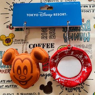 Disney - ディズニー リゾート パークフード パンケーキ ミッキーワッフル 紙皿 ぬいば