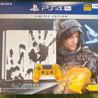 SONY - PlayStation 4(デス・ストランディング リミテッドエディション)