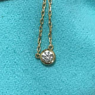 K18 0.1ct ダイヤモンド プチペンダント ネックレス(ネックレス)