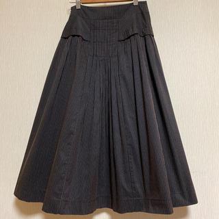 ヒロココシノ(HIROKO KOSHINO)のHIROKO KOSHINO フレアスカート(ひざ丈スカート)