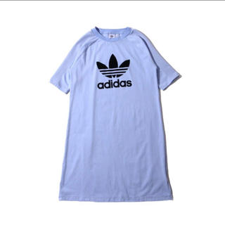 adidas - 【新品】adidas TEE DRESS tシャツワンピース 紫 パープル