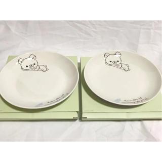 サンエックス(サンエックス)のローソン×リラックマ  お皿 2枚セット(キャラクターグッズ)