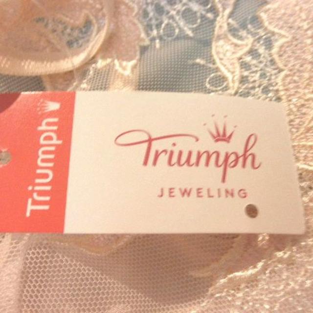 Triumph(トリンプ)の★新品★トリンプ Triumph ジュエリング ロング キャミソール 80 レディースの下着/アンダーウェア(その他)の商品写真