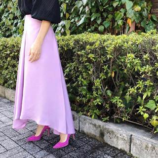 アウラアイラ(AULA AILA)のAULAの限定色スカート(ロングスカート)