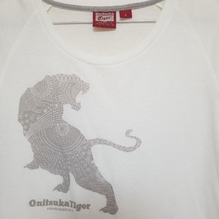 Onitsuka Tiger - OnitsukaTiger オニツカタイガーTシャツ Lsize『美品』