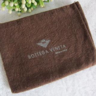 ボッテガヴェネタ(Bottega Veneta)の希少レア★BOTTEGA VENETAボッテガ ヴェネタ 布製保存袋カードケース(名刺入れ/定期入れ)