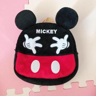 ディズニー(Disney)の美品 ミッキーマウス リュックサック(リュックサック)
