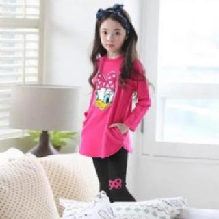 ディズニー(Disney)の子供服120cm Disney デイジー ロンT&レギンスセットアップ(パジャマ)