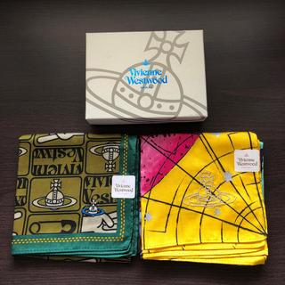 ヴィヴィアンウエストウッド(Vivienne Westwood)のヴィヴィアンウエストウッド ハンカチ箱セット(ハンカチ/ポケットチーフ)