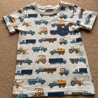 車柄 半袖 Tシャツ 100