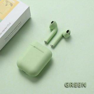 【即購入ok】Inpods12 グリーン ワイヤレスイヤフォン tws(ヘッドフォン/イヤフォン)