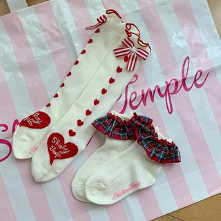 Shirley Temple - シャーリーテンプル🎀ソックス❤️13〜15
