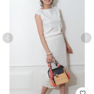 JUSGLITTY - ジャスグリッティー かぎ編みスカート セットアップ