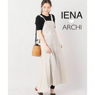 IENA - 美品イエナ別注archiアーキERYTHRITE SALOPETTE DRESS