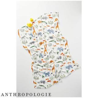 アンソロポロジー(Anthropologie)の★Anthropologie★Babyへ贈物★おくるみブランケット Safari(おくるみ/ブランケット)