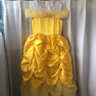 ディズニー(Disney)のディズニーランド  ビビディバビディブティックドレス  ベル  130(ドレス/フォーマル)